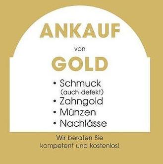 Ankauf Gold, Goldschmuck, Zahngold
